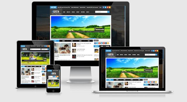 Free Download Agista Premium Blogger Template