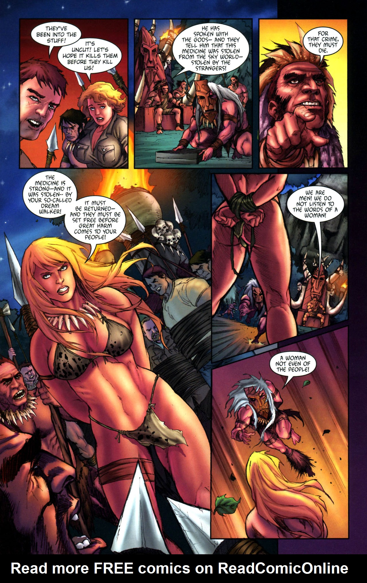 Read online Jungle Girl comic -  Issue #3 - 15
