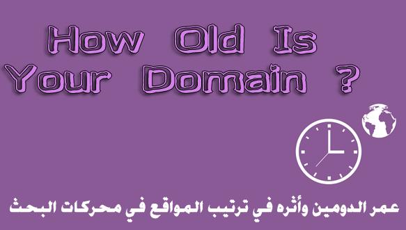 عمر الدومين