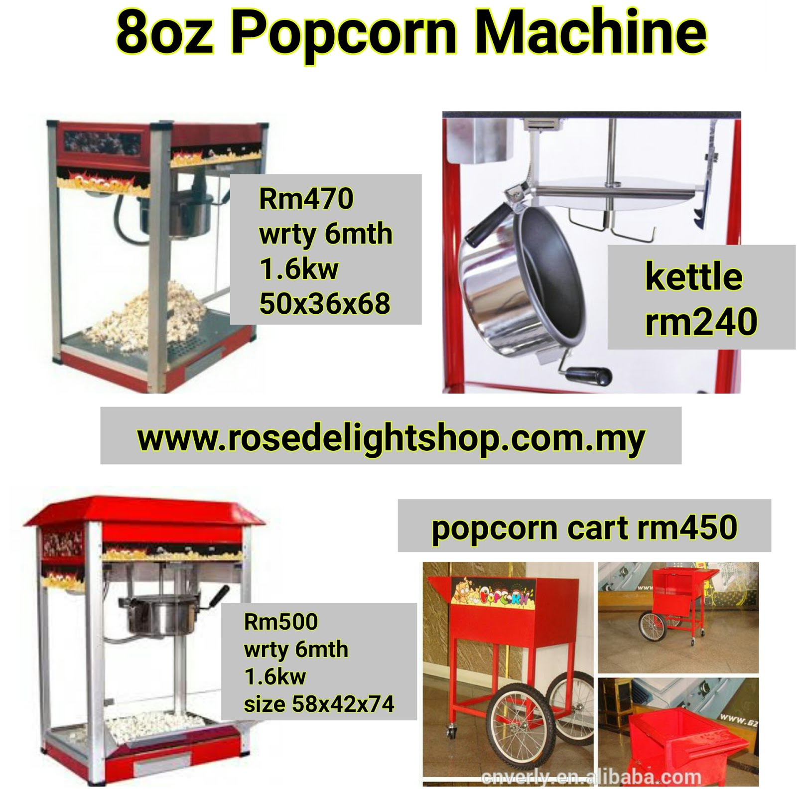 Kateloq Popcorn Machine