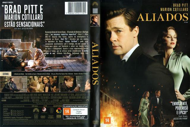 Capa DVD Aliados