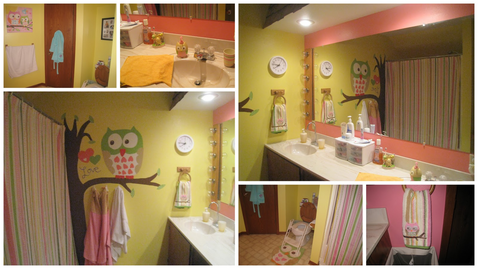 Owl Bathroom The Ug Life Owls Galore