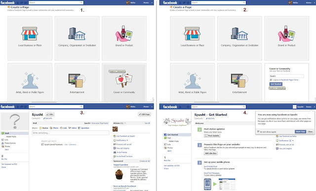 how to create a group in facebook fan page