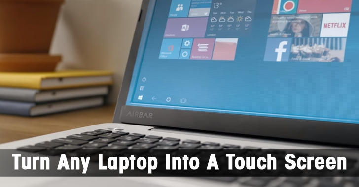How to Turn Any Non-Touch Screen PC Into a Touch Screen