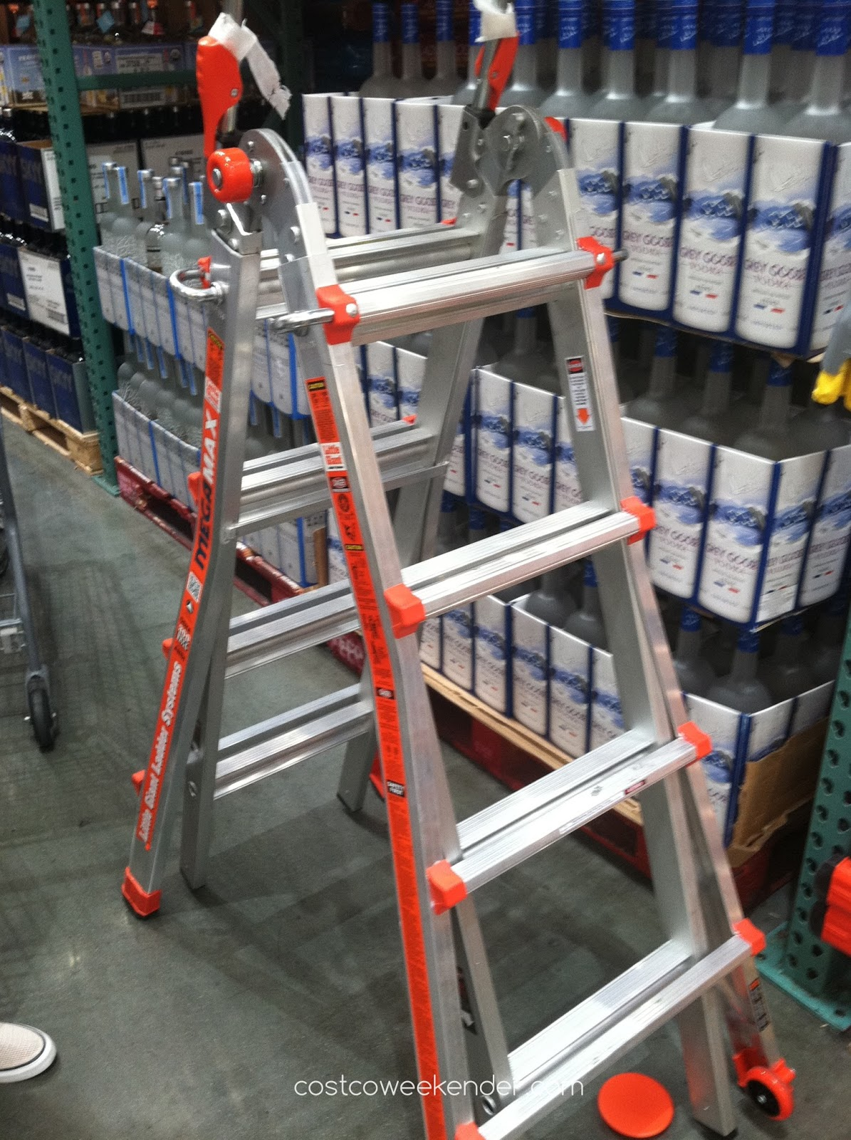 Gain access and get to hard to reach places with the Little Giant Megamax Ladder