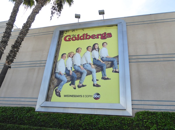 The Goldbergs season 2 billboard
