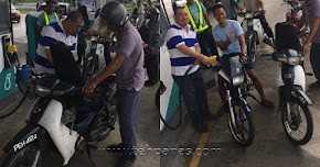 Thumbnail image for Minyak Petrol Percuma Kepada 400 Pemilik Motosikal Bernilai RM2000