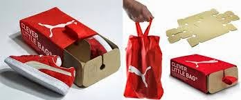 Puma Sustainable Packaging