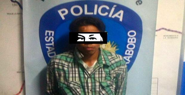 Chaburro detenido en Carabobo por abusar de sus propios hijastros