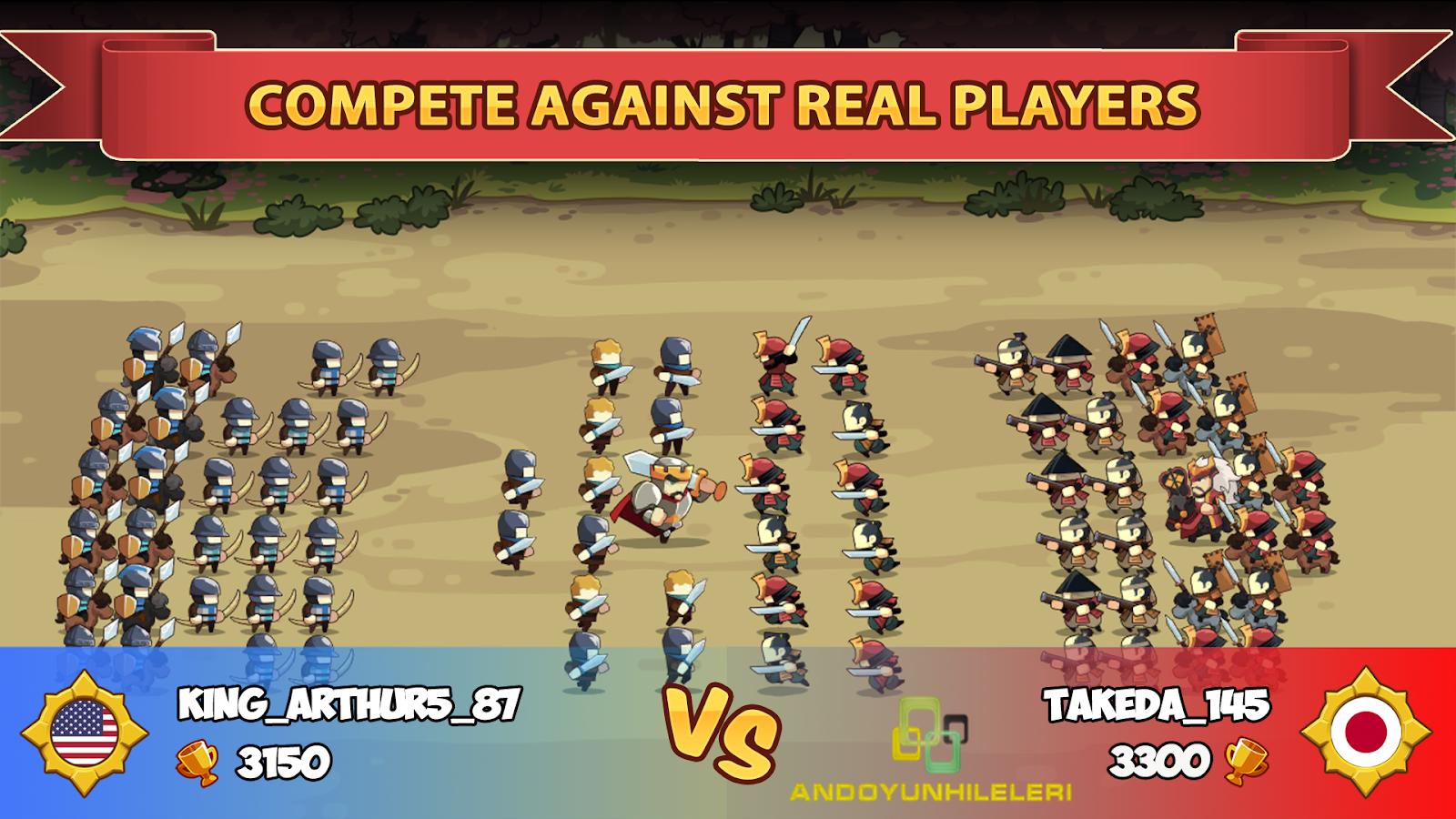 Knights and Glory Tactical Battle Simulator v1.2.93 Hileli