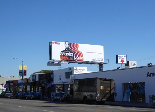 Master of None series launch billboard