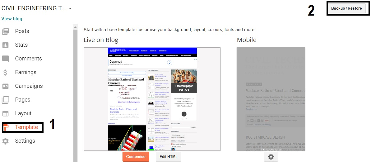 3rdbell Video Blogger Template free download | Tips SEO and Online ...