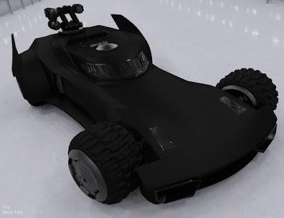 The Super Hero's Car