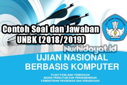 Soal Dan Jawaban Latihan UN (UNBK) SMP Tahun 2019 (2018/2019)