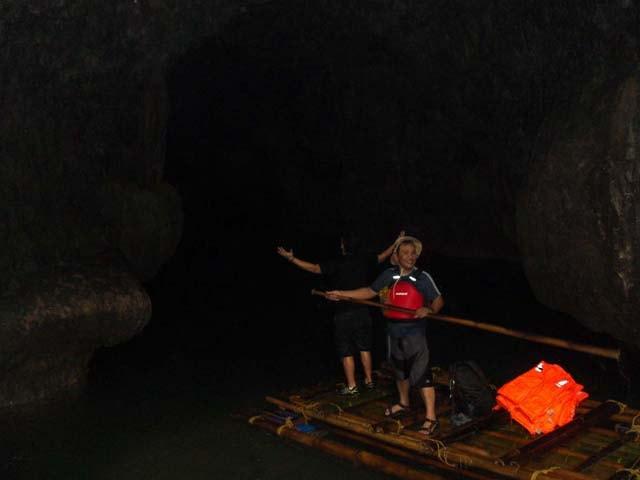 Sweet Dark Memory at the Underground Cave