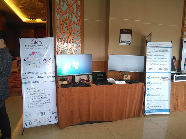 Kami hadir di Seminar APTIKNAS Smart Factory & Smart Building 11 Apr 2019 di Surabaya