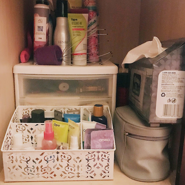 How I Store My Hair Products Tour Write Out My Dreams