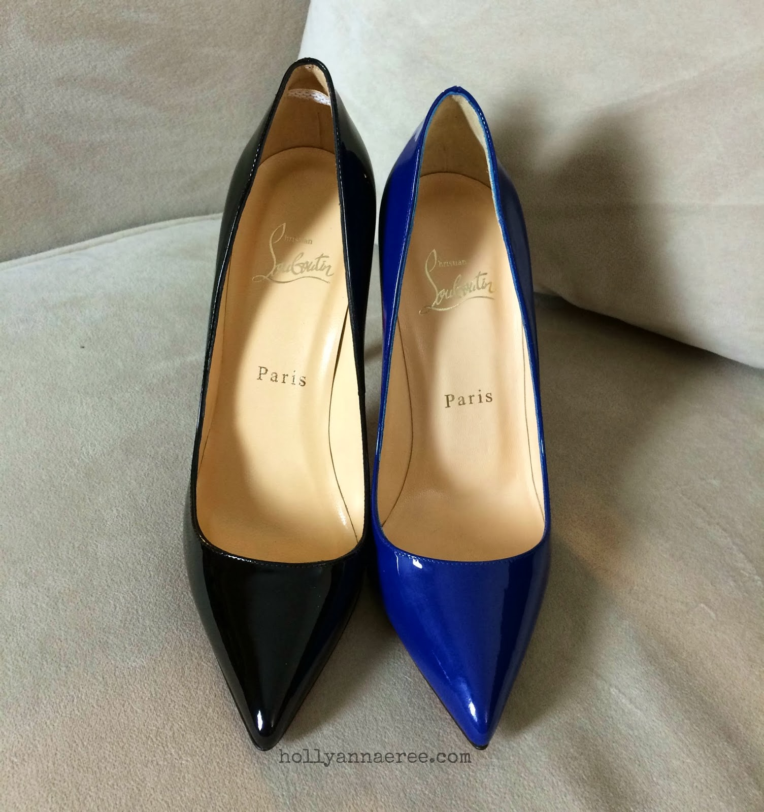 4fd28a31ddc4 Holly Ann-AeRee 2.0  Changes to the Christian Louboutin Pigalle ...