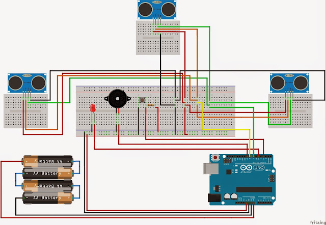 Arduino Projects Arduino Project Guide Stick For Blind