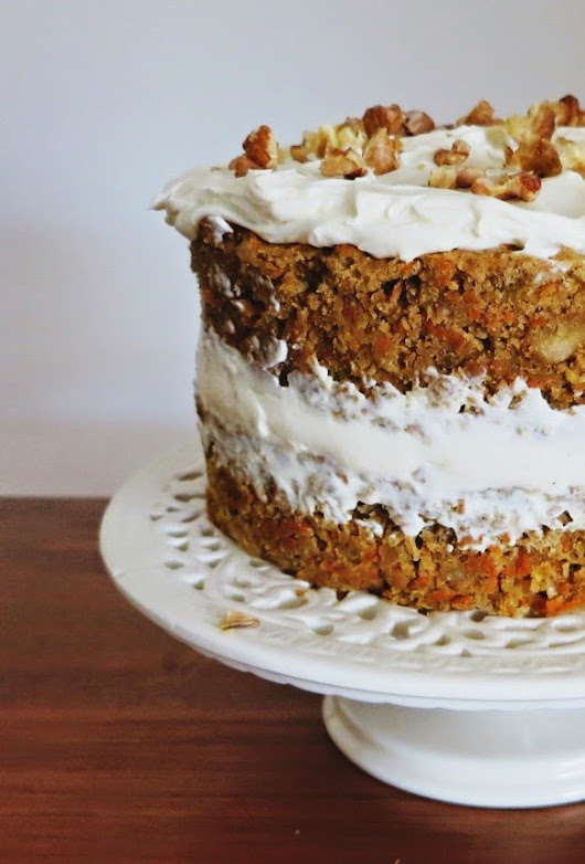 Celebration Carrot Cake with Cream Cheese Icing