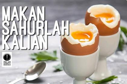 Berkah Sahur | Kumpulan Hadits Puasa Ramadhan