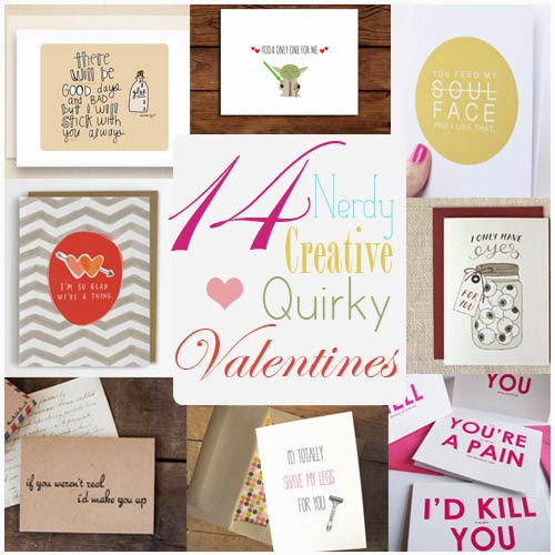 Top 14 Quirky Valentine's Day Cards