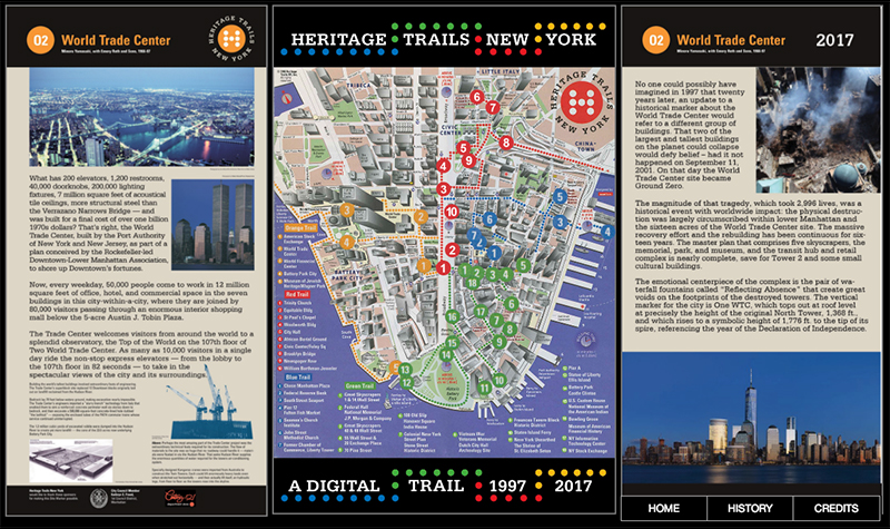 in addition to the interactive map which works on mobile devices but is best seen on laptops and other large screens the skyscraper museum created a