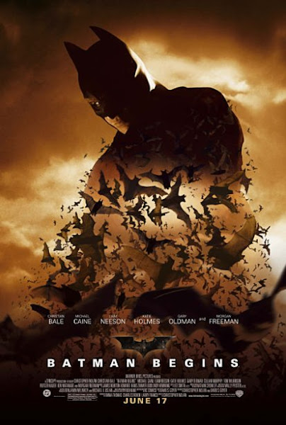 Poster Of Batman Begins 2005 720p Hindi BRRip Dual audio
