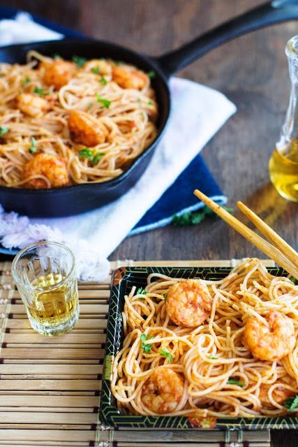 Marinated Spicy Shrimp Scampi Recipe