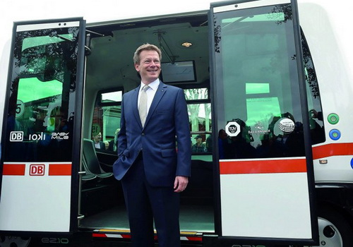 Tinuku.com Deutsche Bahn operated self-driving buses on German public roads