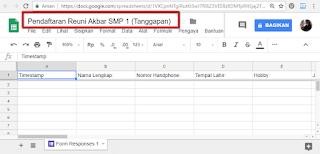 Cara Membuat dan Memanfaatkan Formulir Online Gratis dari Google Form