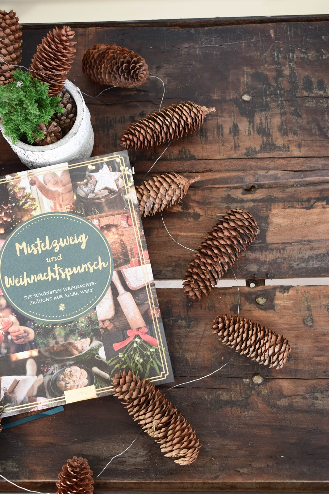 Weihnachtsbuch Mistelzweig und Weihnachtspunsch arsEdition EDITIONdeluxe Advent Geschenkbücher Geschenkpapier schöne Papeterie