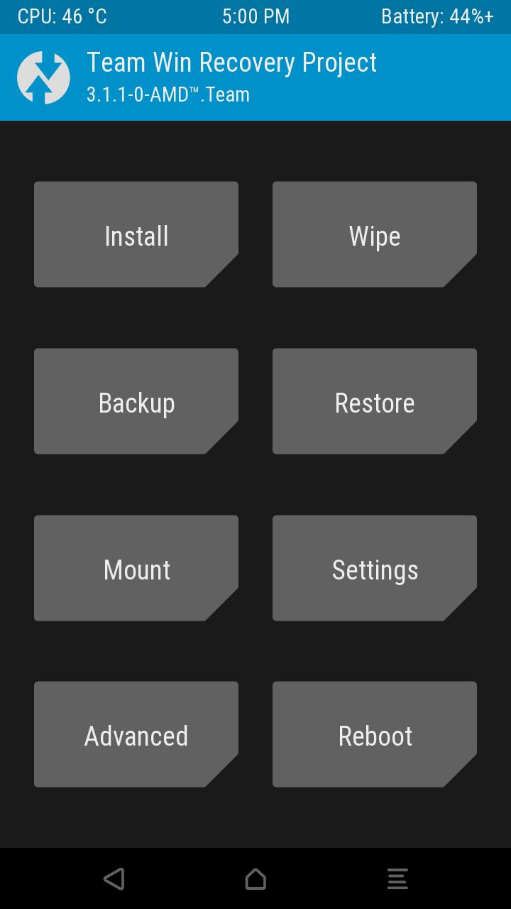 SC7731] [6 0 1] TWRP Recovery For Symphony V75 Touch Working - HeroDroid