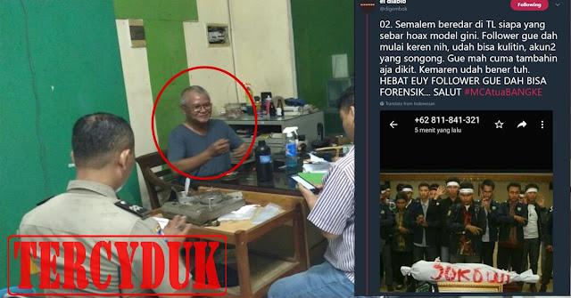 Akhirnya Penebar FITNAH Ulama Dan Presiden Jokowi Itu TERCYDUK !!, Ini Dia Orangnya