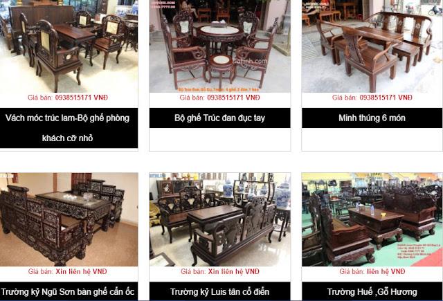 cửa hàng nội thất Online tại Bắc Giang.