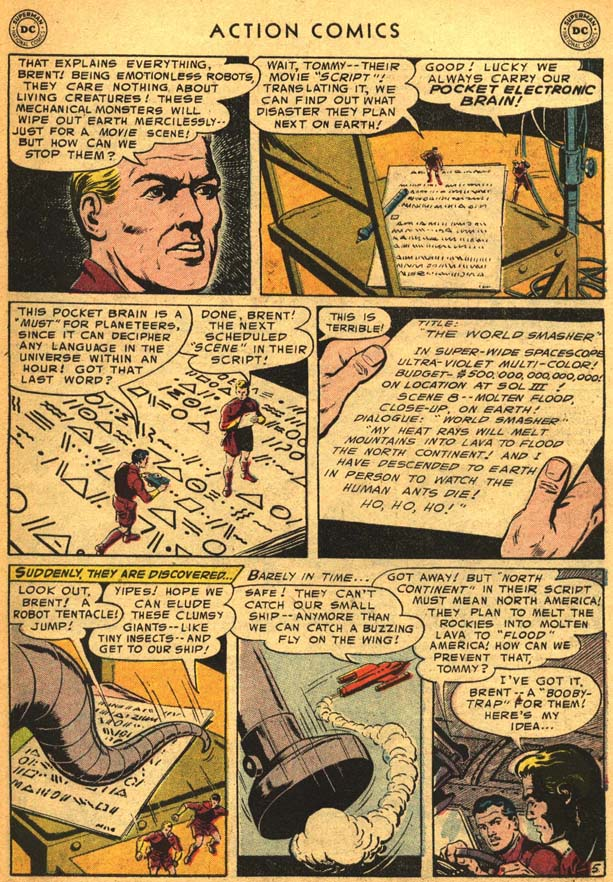 Read online Action Comics (1938) comic -  Issue #210 - 33