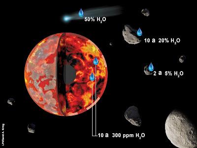 Trovata acqua sulla superficie lunare