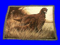 Irish Setter Blanket Throw Tapestry