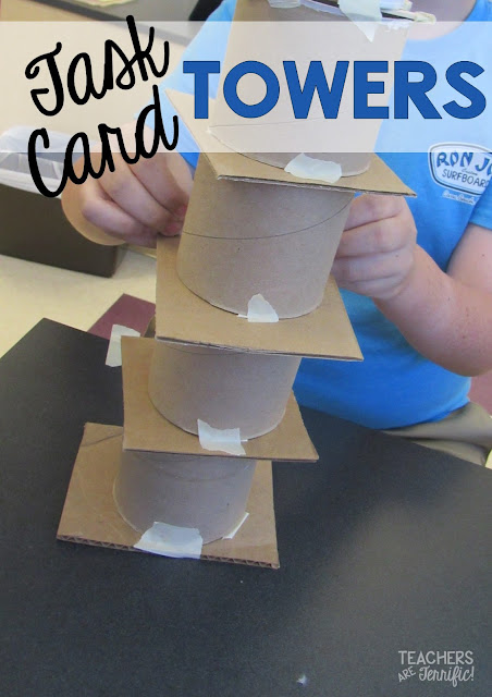 STEM Challenge: Solve some math problems to earn materials for the tower design!
