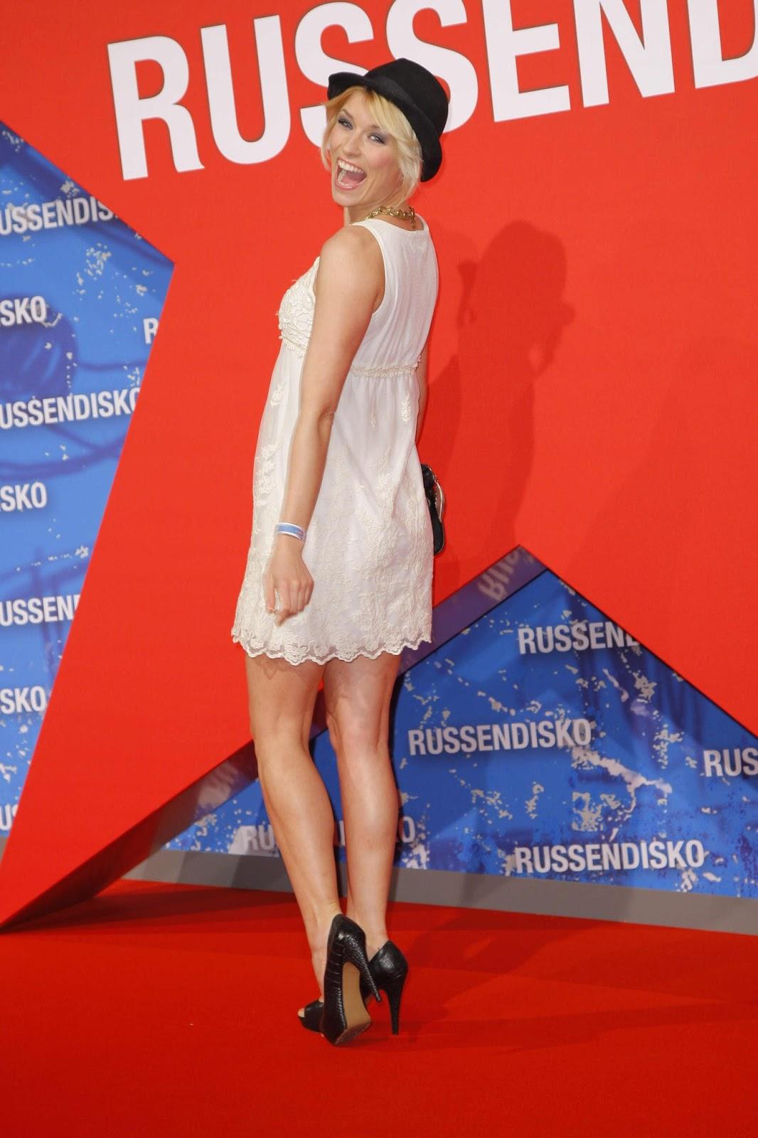 Annica Hansen Hot Photos at Russendisko World Premiere