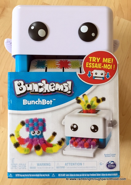 Create with the Bunchems! BunchBot
