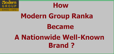 How modern group Ranka became a nationwide well-known brand?