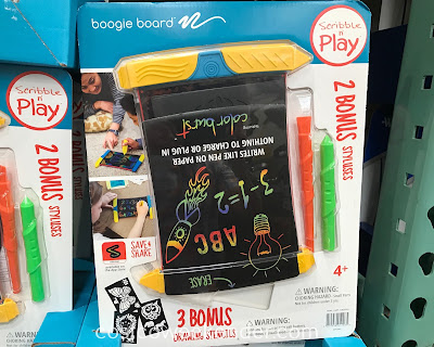 Let your kids have fun writing and drawing with the Boogie Board Scribble n' Play eWriter