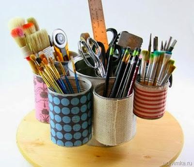 Organizador-lapices-con-latas
