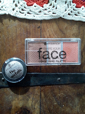 Essence Shape Your Face Palette The Metals Eyeshadow