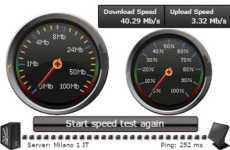 BandwidthTester: test para medir la velocidad de conexión a internet