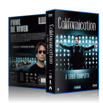 Capa DVD Californication - A Série Completa [Box]