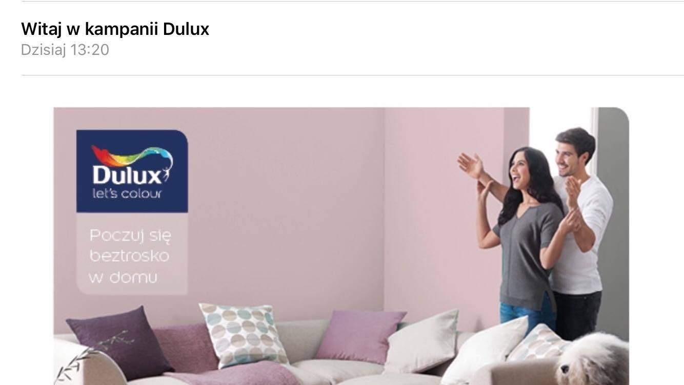Agulatestuje Kampania Dulux Od Streetcom Duluxeasycare