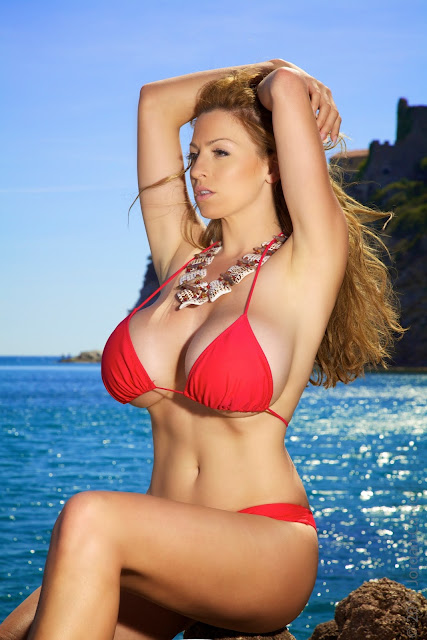 Jordan-Carver-red-bikini-hd-hot-sexy-photo-1