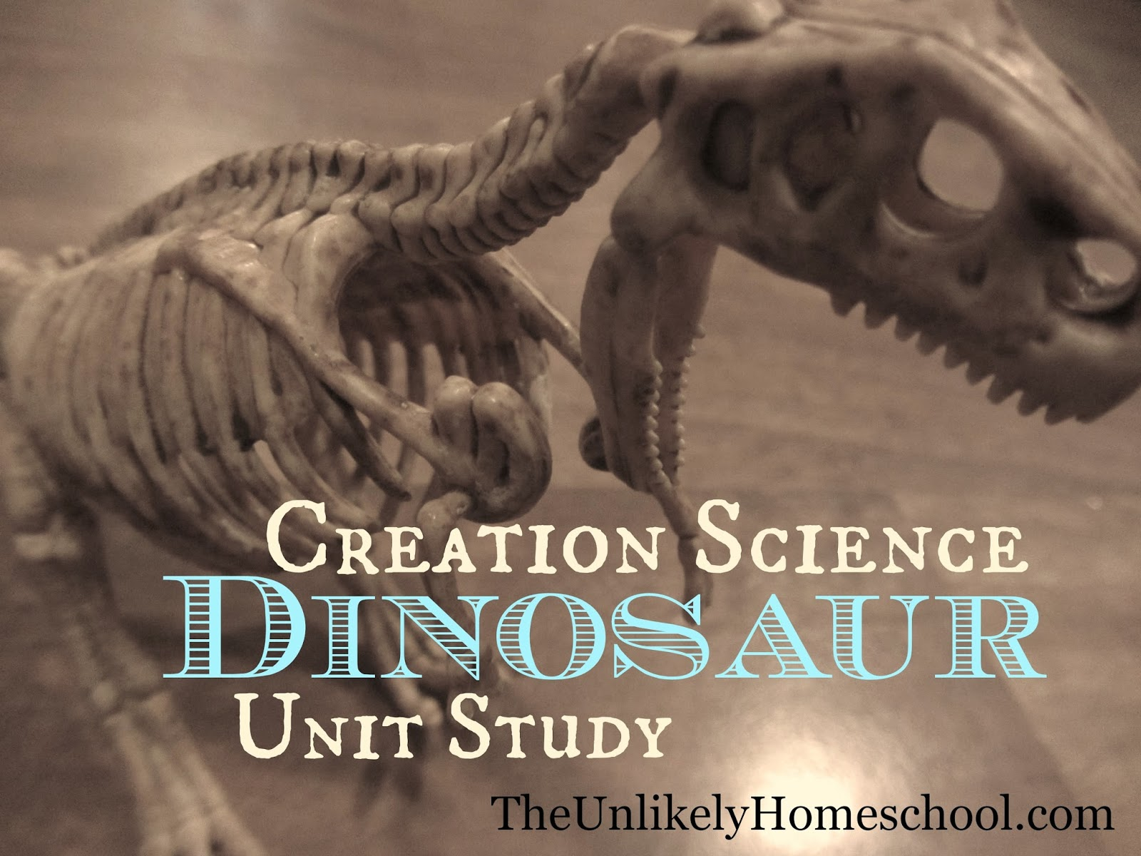 Creation Science Dinosaur Unit {The Unlikely Homeschool}